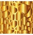 Gravel texture golden background vector image vector image