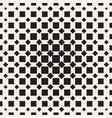 halftone seamless geometric pattern monochrome vector image vector image