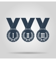 Medal icon concept for design vector image vector image