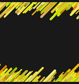 yellow abstract seamless trendy diagonal gradient vector image vector image