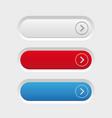 empty button set vector image