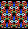 colorful abstract paisley seamless pattern vector image vector image