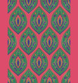 colorful eastern pattern vector image vector image