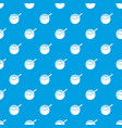 hanami dango pattern seamless blue vector image vector image