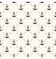 Seamless pattern of anchor shape and line