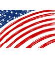 usa flag design vector image
