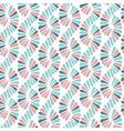 abstract seamless nature ribbon pigtail vector image vector image