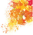 background of paint splashes vector image vector image