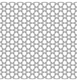 Islamic girih pattern background vector image vector image