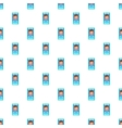 Photo in mobile phone pattern cartoon style vector image vector image