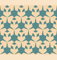 retro vintage geometric seamless pattern vector image