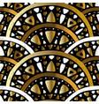 art nouveau seamless pattern vector image