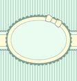boy frame vector image vector image