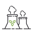 Energy icon symbol vector image