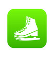 skates icon simple black style vector image vector image