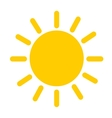 sun weater icon vector image
