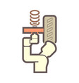 technician car icon vector image