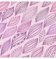 Violet seamless pattern with stylized petals and vector image vector image