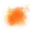 watercolour splatter background vector image vector image