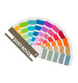 color swatch rainbow tool for designer vector image vector image