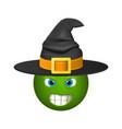 halloween smiley emoticons emoji vector image vector image