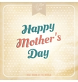 happy mothers day polka dot style eps 10 vector image vector image