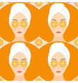 Seamless Spa Pattern vector image