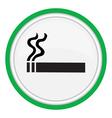 smoking area vector image vector image