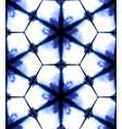 tie dye shibori print with stripes and chevron vector image vector image
