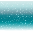 Abstract winter background with snow vector image