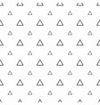 abstract seamless pattern grey triangles modern vector image vector image
