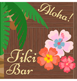 Hawaii Bar Poster Tiki Bar