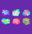 spring sale and discount offer promotion vector image vector image