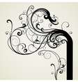 6floral line 63 2 vector image vector image