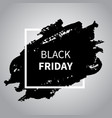 black friday sale design black friday vector image vector image