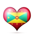 Grenada Heart flag icon vector image