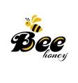 Merry bee Logo vector image vector image