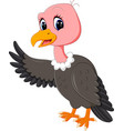 vulture cartoon vector image vector image
