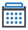 calendar day schedule icon vector image vector image
