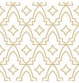geometric islamic seamless pattern vector image