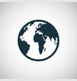 globe icon simple flat element concept design vector image vector image