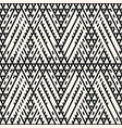 tribal seamless pattern with diagonal lines vector image