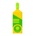 vodka icon cartoon style vector image vector image
