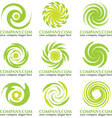 Abstract Logos vector image vector image