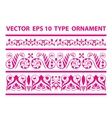 fairy tape ornament vector image