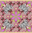 floral seamless pattern flowers of the valley on vector image vector image