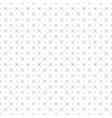 monochrome geometric seamless pattern vector image vector image