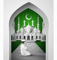 mosque3 vector image vector image