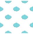 summer cloud pattern flat vector image vector image