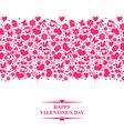 valentine el gorisontal vector image vector image